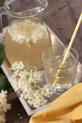 Holunderblüten-Limonade