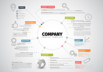 Circular Business Infographic