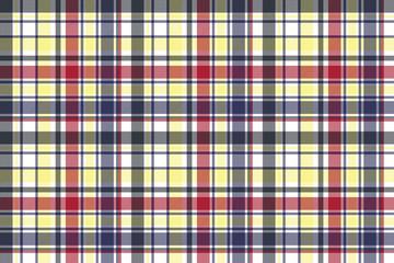 Check plaid tartan fabric texture seamless pattern