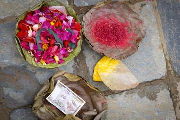 Im Tempel in Nepal