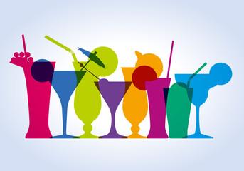 cocktail - verre - apéro - apéritif - boisson - alcool -bar