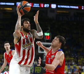 Basketball- Euroleague Final Four Semifinal - CSKA Moscow v Olympiacos