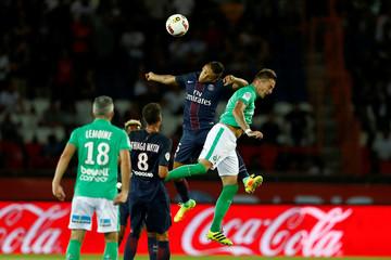 Paris St Germain v St Etienne - French Ligue 1 - Parc des Princes stadium