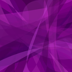 Purple abstract background from dynamic curves