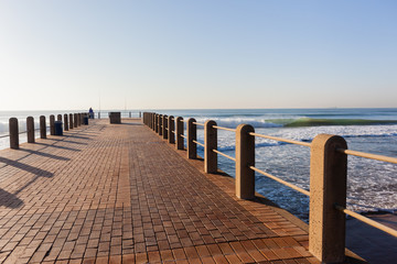 Beach Ocean Pier Landscape