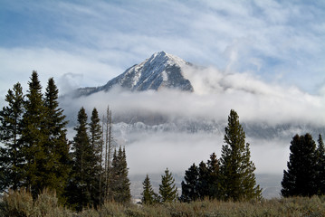 Mount Crested Butte Early Snow