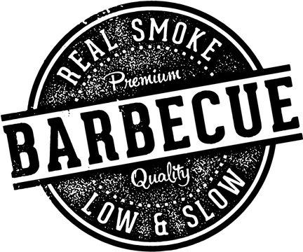 Vintage Barbecue BBQ Restaurant Sign