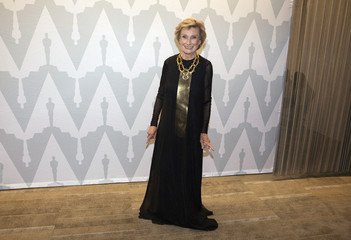 """Actress Leachman poses at a 40th anniversary screening of """"Young Frankenstein"""" in Beverly Hills"""