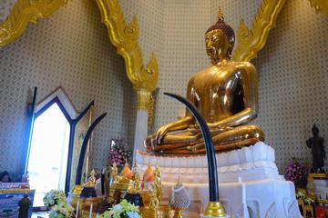 Wat Traimit Golden Buddha Temple in Bangkok, Thailand