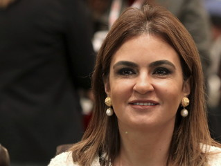 International Cooperation Minister Sahar Nasr attends the Egypt Mega Projects MEED Conference in Cairo