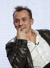 "Knepper of ""Cult"" laughs during the CW panel presentation of the 2013 Winter Television Critics Association Press Tour in Pasadena"