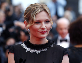"""Actress Kirsten Dunst arrives for the screening of the film """"Inside Llewyn Davis"""" in competition during the 66th Cannes Film Festival"""