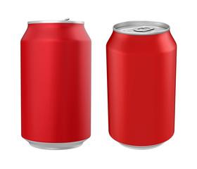 Aluminium Soda Can Isolated