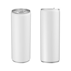 Aluminium Soda Can Isolated