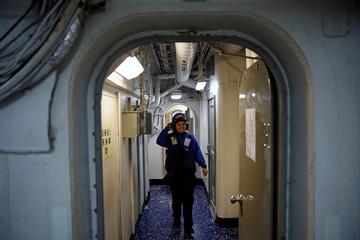 The Wider Image: Life aboard the USS Harry S. Truman
