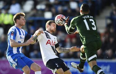 Colchester United v Tottenham Hotspur - FA Cup Fourth Round