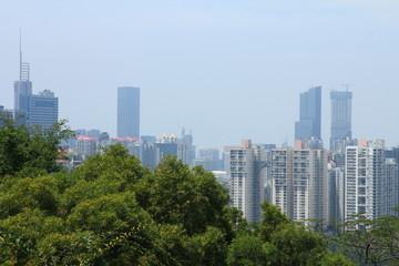 Skyline of Shenzhen, China