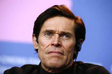 "Actor Dafoe looks on during a press conference to promote the movie ""The Grand Budapest Hotel"" at the 64th Berlinale International Film Festival in Berlin"