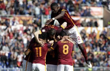 Football Soccer - AS Roma v Napoli - Italian Serie A