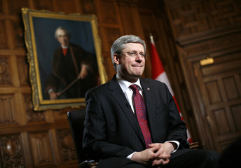 To match Interview CANADA-HARPER/INVESTMENT