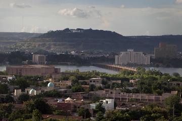 A view of the Malian capital Bamako