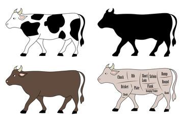 牛・各種セット