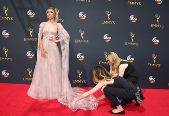 Television personality Giuliana Rancic arrives at the 68th Primetime Emmy Awards in Los Angeles