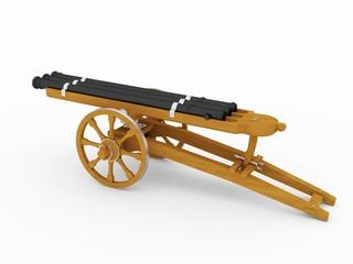 Triple Barrel Cannon, Leonardo da Vinci; Codex Atlanticus 0929r