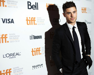 "Actor Zac Efron arrives for the gala presentation of ""The Paperboy"" at the 37th Toronto International Film Festival"