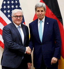 Steinmeier meets with Kerry alongside NATO ministerial meetings at NATO headquarters in Brussels