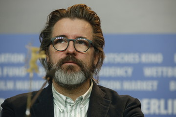 Dannish artist Olafur Eliasson and memer of the international jury for the upcoming 67th Berlinale International Film Festival attends a news conference in Berlin