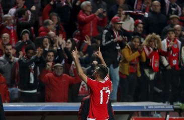 Football Soccer - Benfica v Zenit St. Petersburg - Champions League