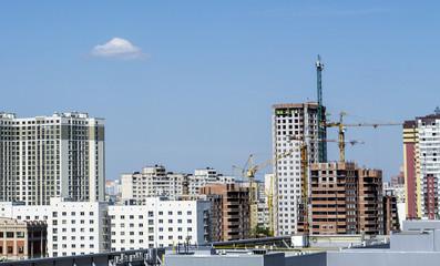 Construction, building process
