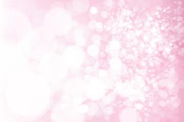 Vector pink  bokeh, sparkle background.