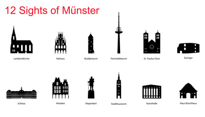 12 Sights of Münster