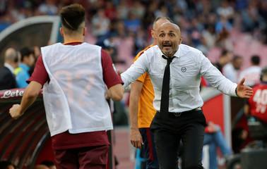 Napoli v AS Roma - Italian Serie A