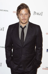 """Cast member Norman Reedus arrives at the premiere of """"The Conspirator"""" in New York"""