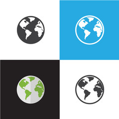 Internet and Web Icon Vector Illustration