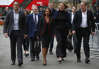 Gina Miller arrives at the Supreme Court in London