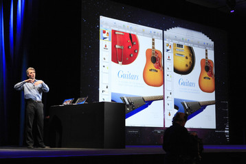 Craig Federighi talks about improvements to OS X Lion at the Apple Worldwide Developers Conference in San Francisco