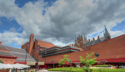 British Library in London, UK