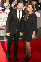 """Singer Liam Payne from the band One Direction and his girlfriend Sophia Smith attend the world premiere of the film """"The Class of 92"""" in London"""