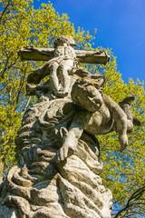 old sculpture in Czech Republic