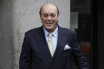 Businessman Asil Nadir arrives at the Old Bailey, in London