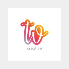 TV logo, vector. Useful as branding, app icon, alphabet combination, clip-art.