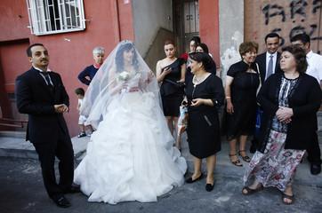Zwai and melanie wedding dresses