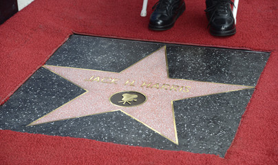 Film producer Jack H. Harris receives a star on the Hollywood Walk of Fame in Los Angeles