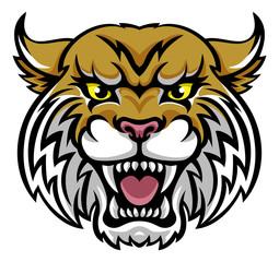 Wildcat Bobcat Mascot