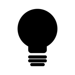 light bulb icon vector illustration graphic design