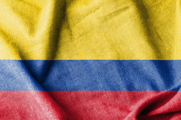 Colombia Cotton Flag